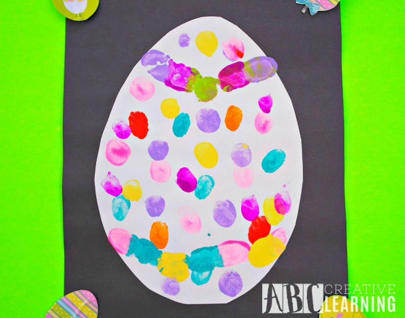 Thumbprint Easter Egg Keepsake last