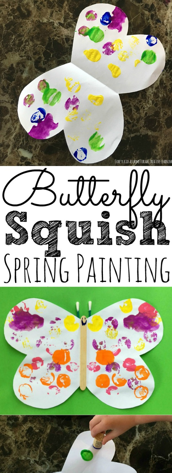 Butterfly Spring Craft For Kids