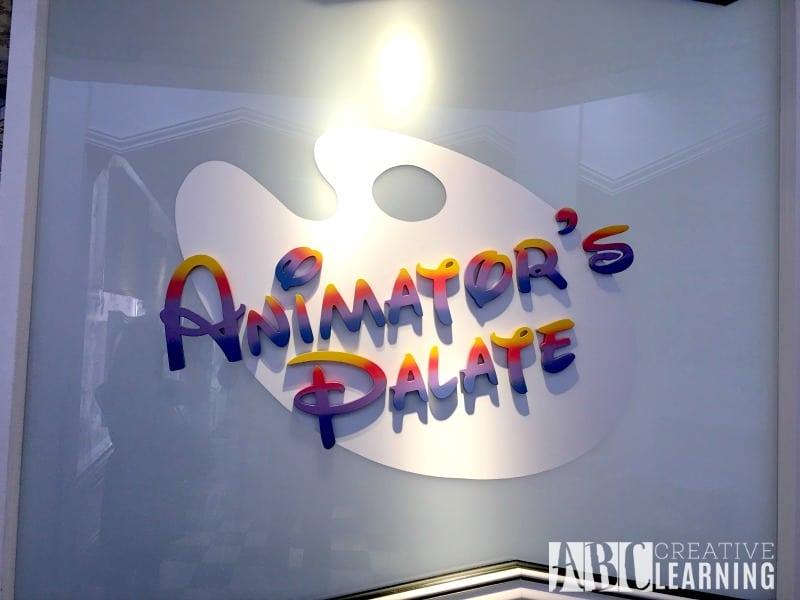 Disney Magic Cruise Ship - Family Bucket List Animators Palate