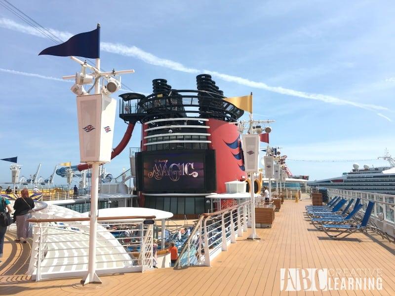 Disney Magic Cruise Ship - Family Bucket List deck