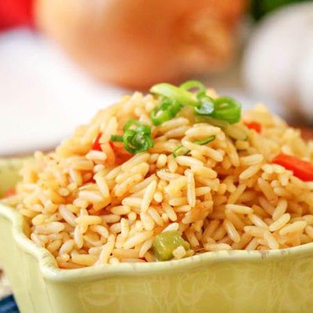 Easy One Pan Spanish Rice Recipe