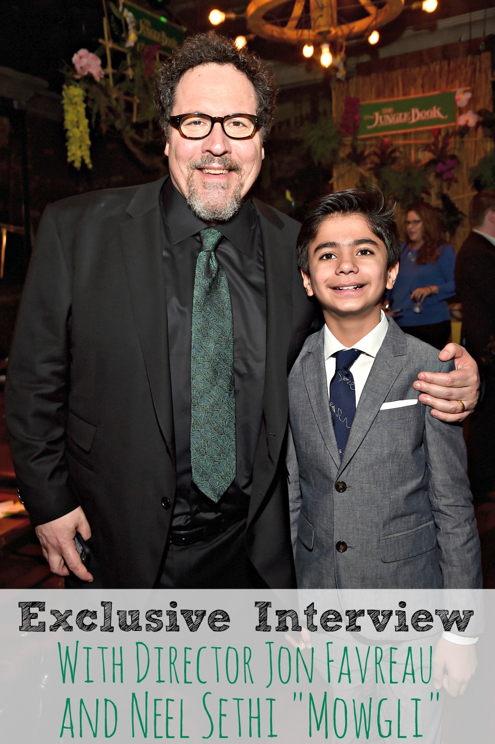 Exclusive Interview with Jon Favreau and Neel Sethi