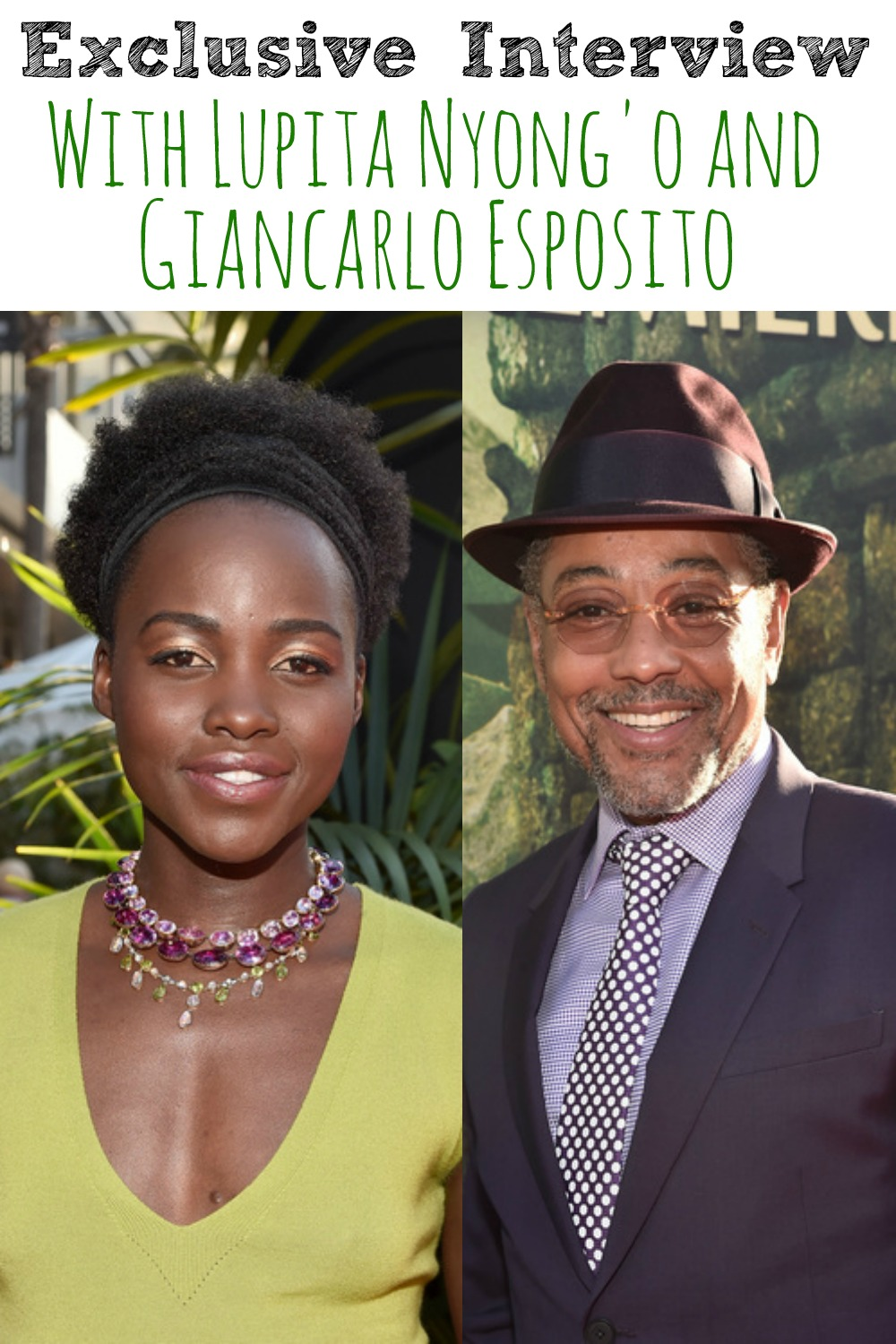 Exclusive Interview with Lupita Nyongo and Giancarlo Esposito