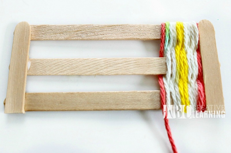 Mother's Day Gift Idea Weaved Bookmark Craft 2