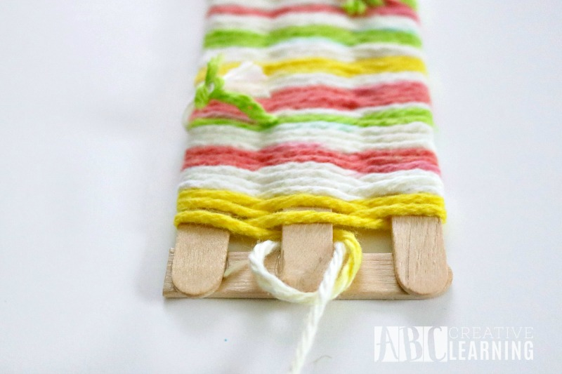 Mother's Day Gift Idea Weaved Bookmark Craft 3