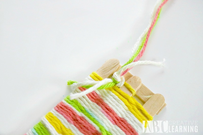 Mother's Day Gift Idea Weaved Bookmark Craft 4