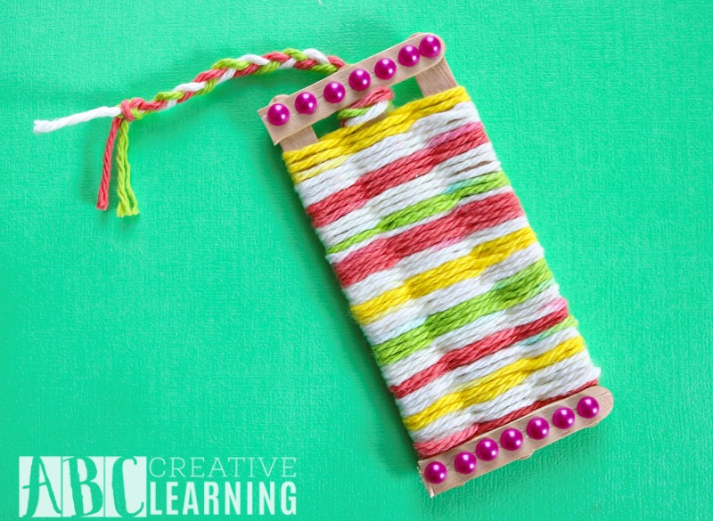 Mother's Day Gift Idea Weaved Bookmark Craft final