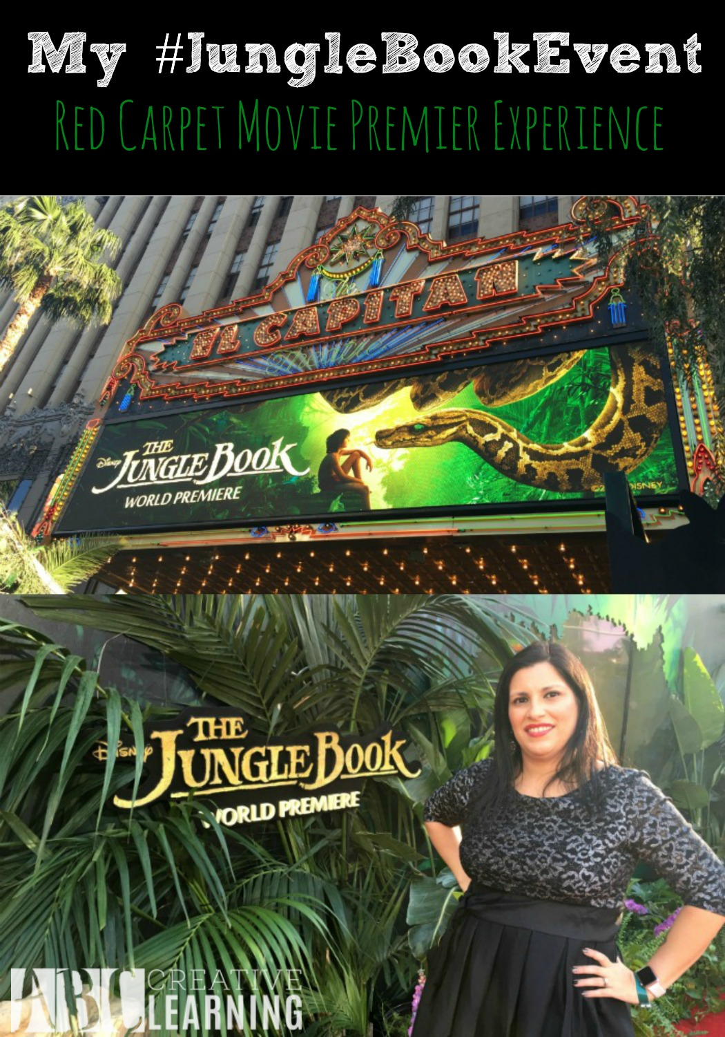 My Jungle Book Event Red Carpet Movie Premier Experience