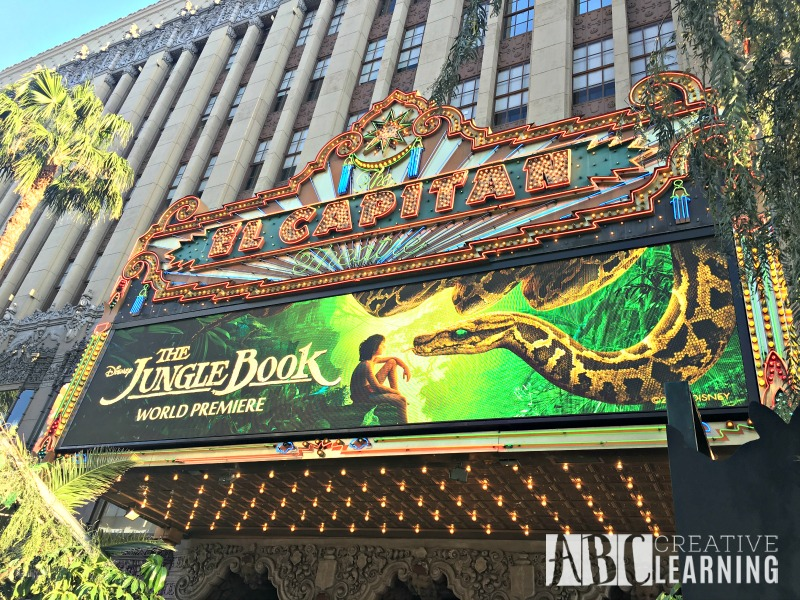 My #JungleBookEvent Red Carpet Movie Premier Experience El Capitan Theater