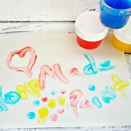 Non-Toxic Homemade Finger Paint