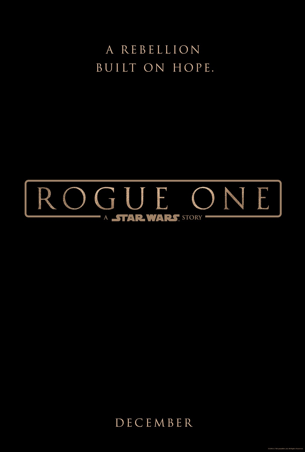 Rogue One A Star Wars Story Teaser Trailer #RogueOne