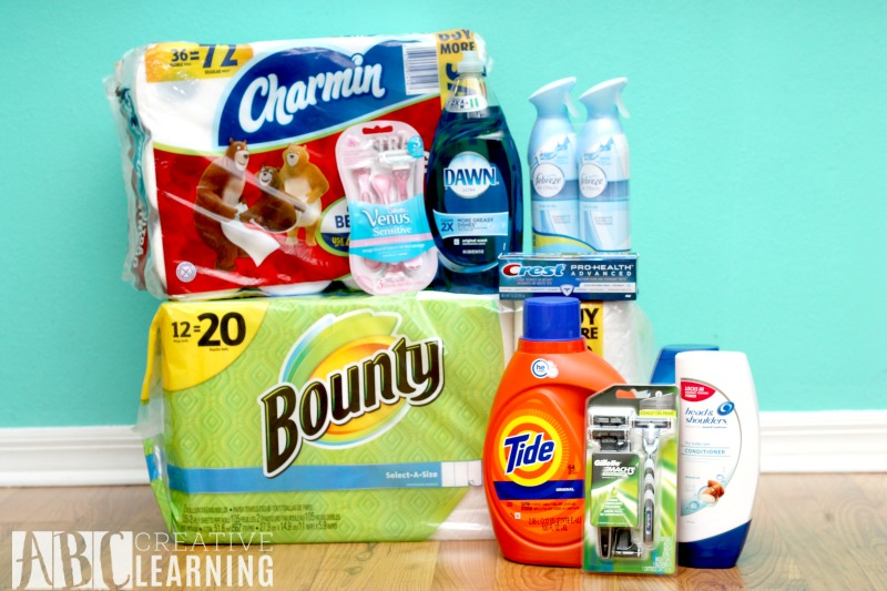 Stocking Up Your Home and Saving Money pack
