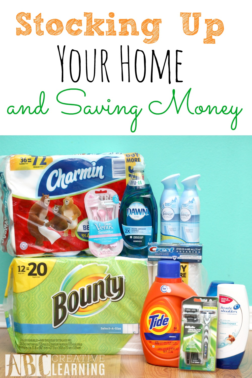 Stocking Up Your Home and Saving Money