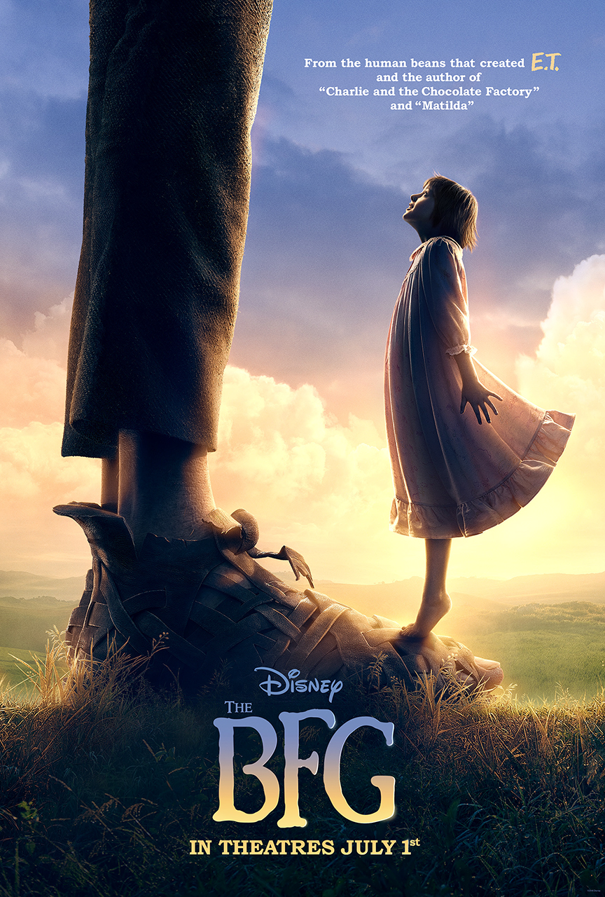 New Trailer For Disney's The BFG #TheBFG