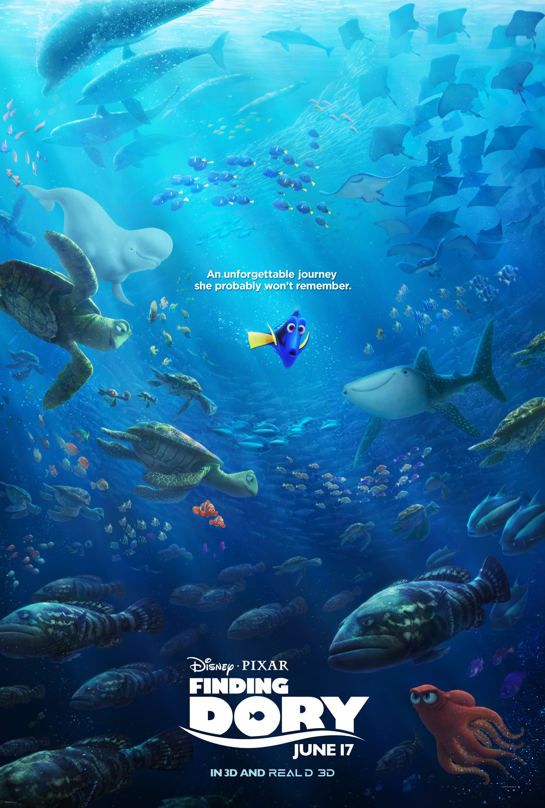 Finding Dory Coloring Sheets #FindingDory #HaveYouSeenHer