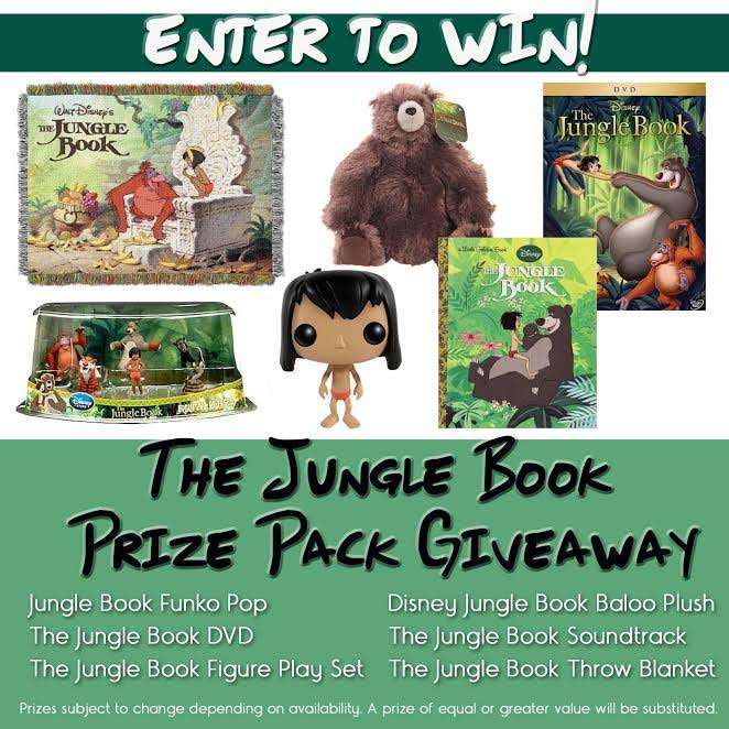 The Jungle Book Huge Prize Pack Giveaway