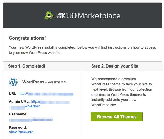 How To Start A Blog-Mojo Email
