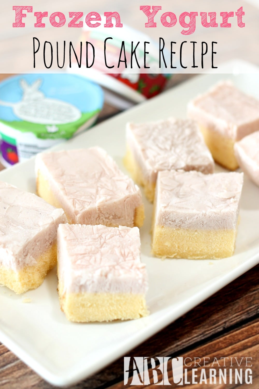 Frozen Yogurt Pound Cake