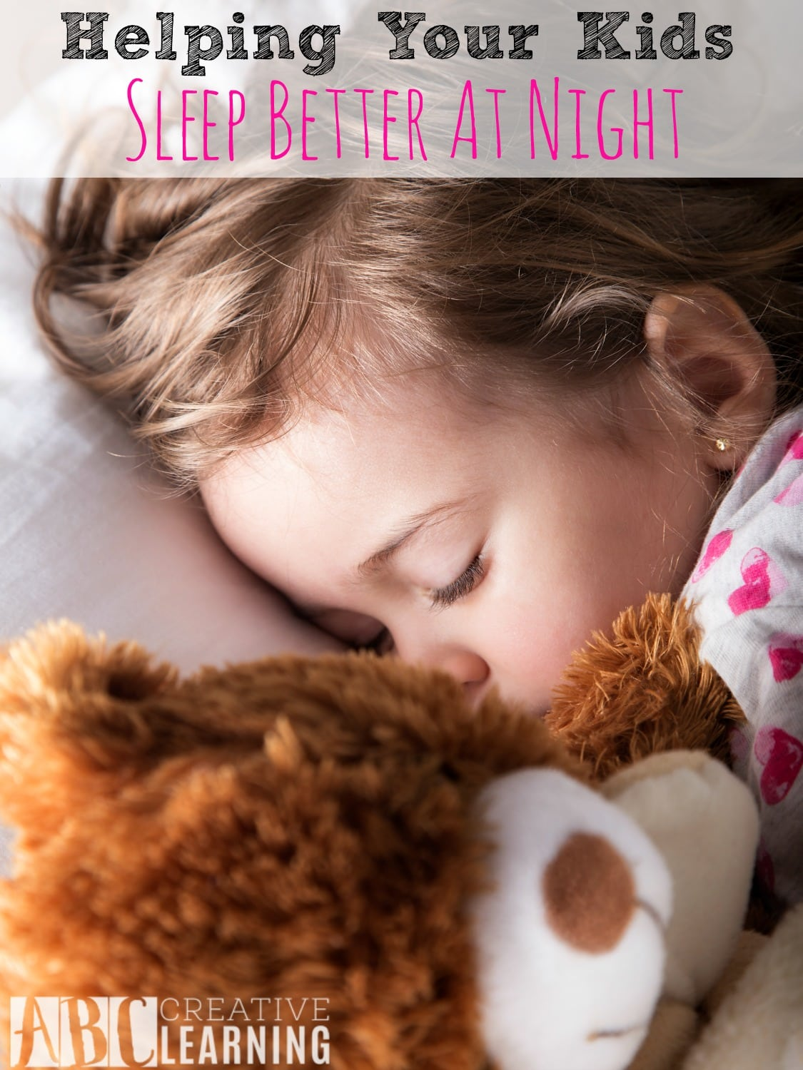 Helping Your Kids Sleep Better At Night