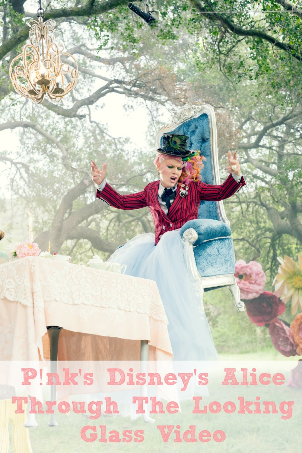 Pinks Disney's Alice Through The Looking Glass Video