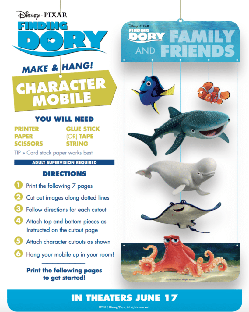 Finding Dory Memory Game Mobile