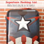 Superhero Packing List When Traveling With The Family