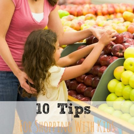 10 Tips For Shopping With Kids