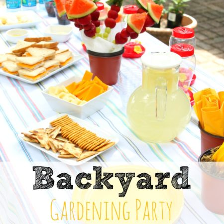 Backyard Gardening Party