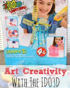Art Creativity with the IDO3D