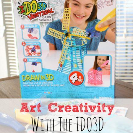 Art Creativity with the IDO3D