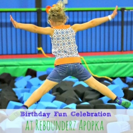 Birthday Fun Celebration at Rebounderz Apopka