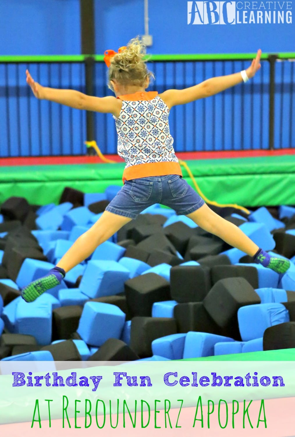 Birthday Fun Celebration at Rebounderz Apopka - abccreativelearning.com