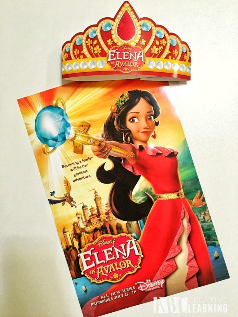 Disney's Elena of Avalor Royal Party Celebration Poster
