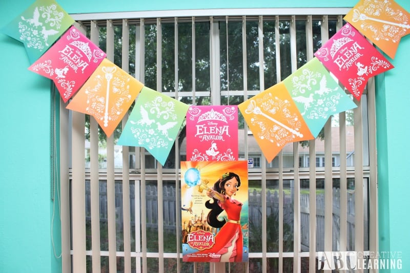 Disney's Elena of Avalor Royal Party Celebration banner