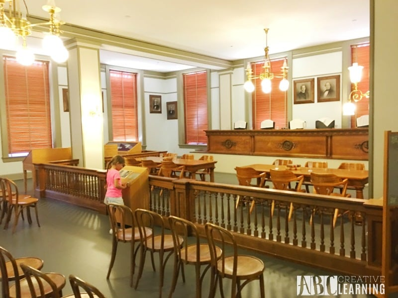 Family Travels To Florida Historic Capitol Museum SC