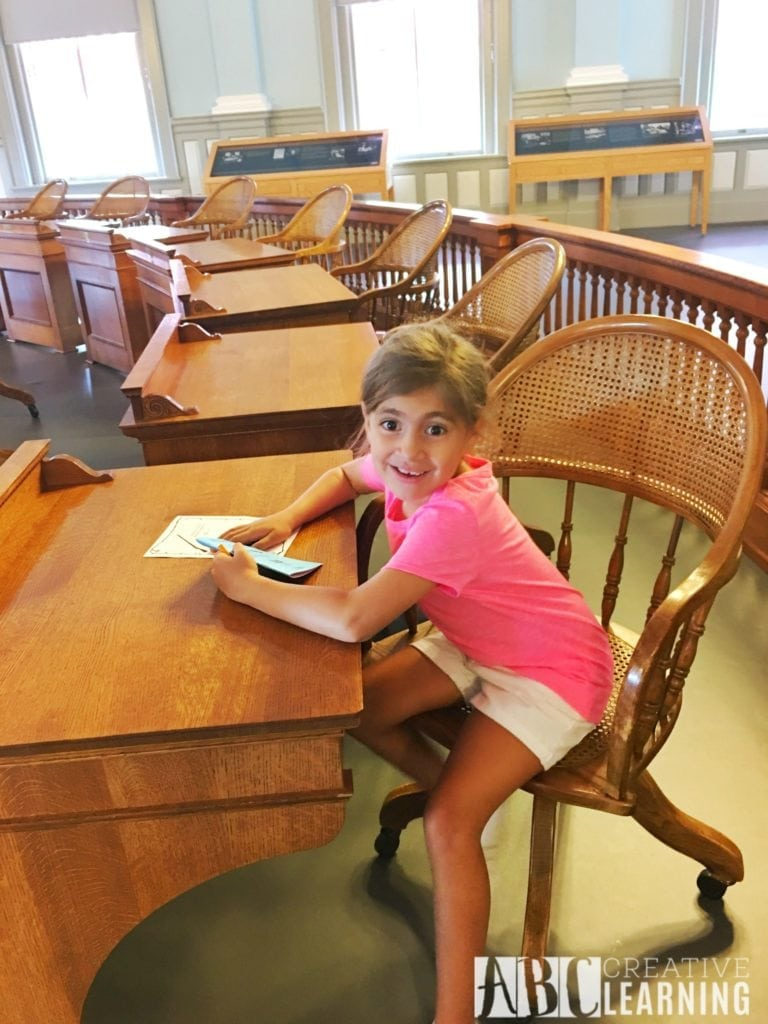 Family Travels To Florida Historic Capitol Museum Senate