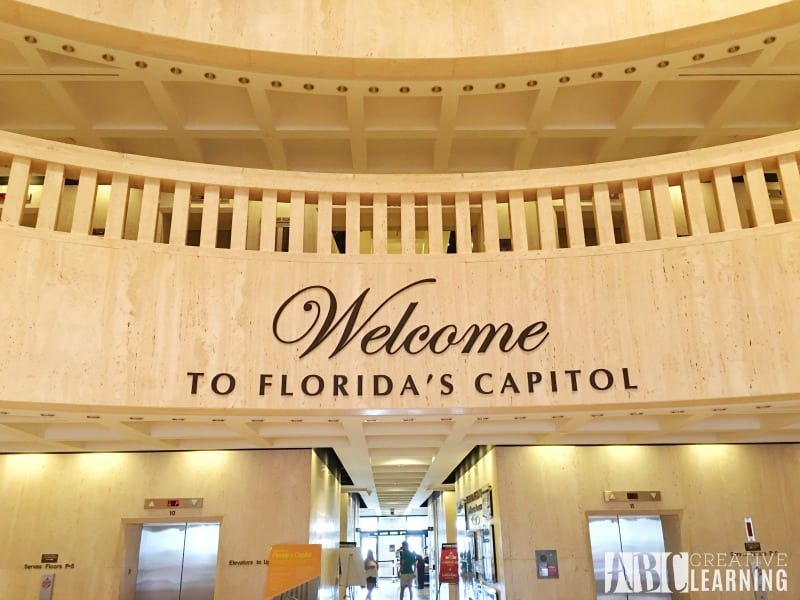 Family Travels To Florida Historic Capitol Museum c