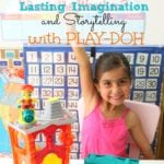 Lasting Imagination and Storytelling with Play-Doh