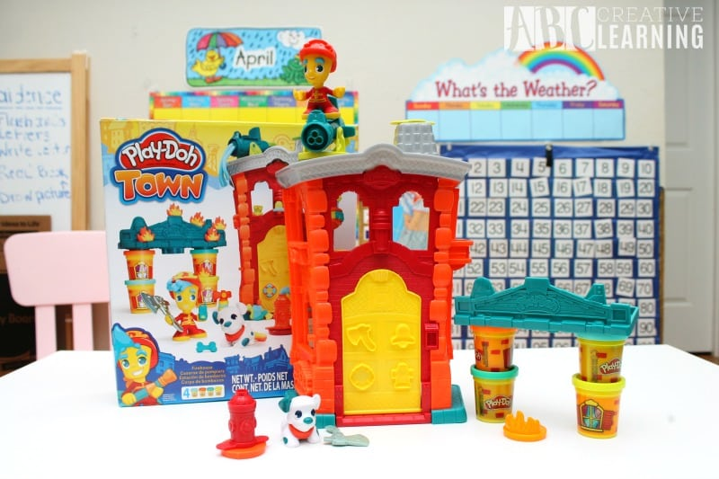 Lasting Imagination and Storytelling with Play-Doh Fire Station