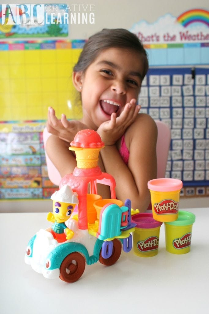 Lasting Imagination and Storytelling with Play-Doh Ice Cream