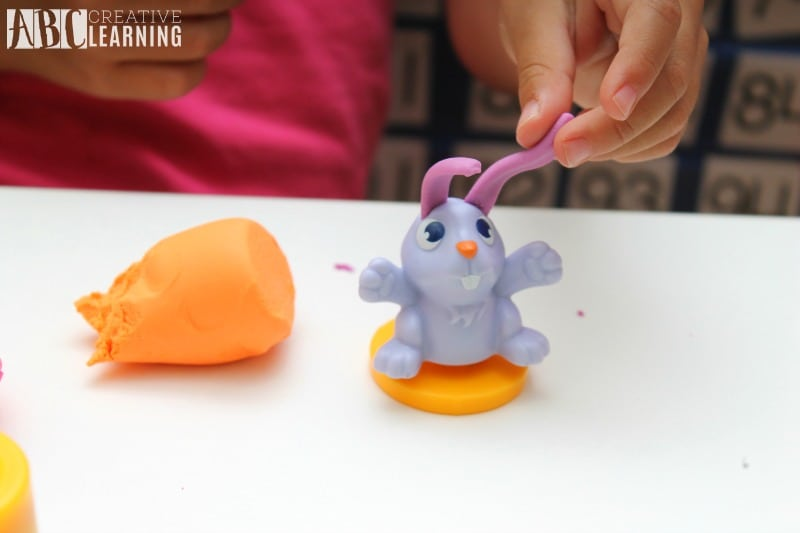 Lasting Imagination and Storytelling with Play-Doh buny