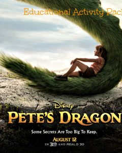 Disney's Pete's Dragon Educational Activity Packet