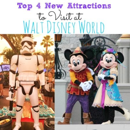 Top 4 New Attractions To Visit At Walt Disney World #AwakenSummer