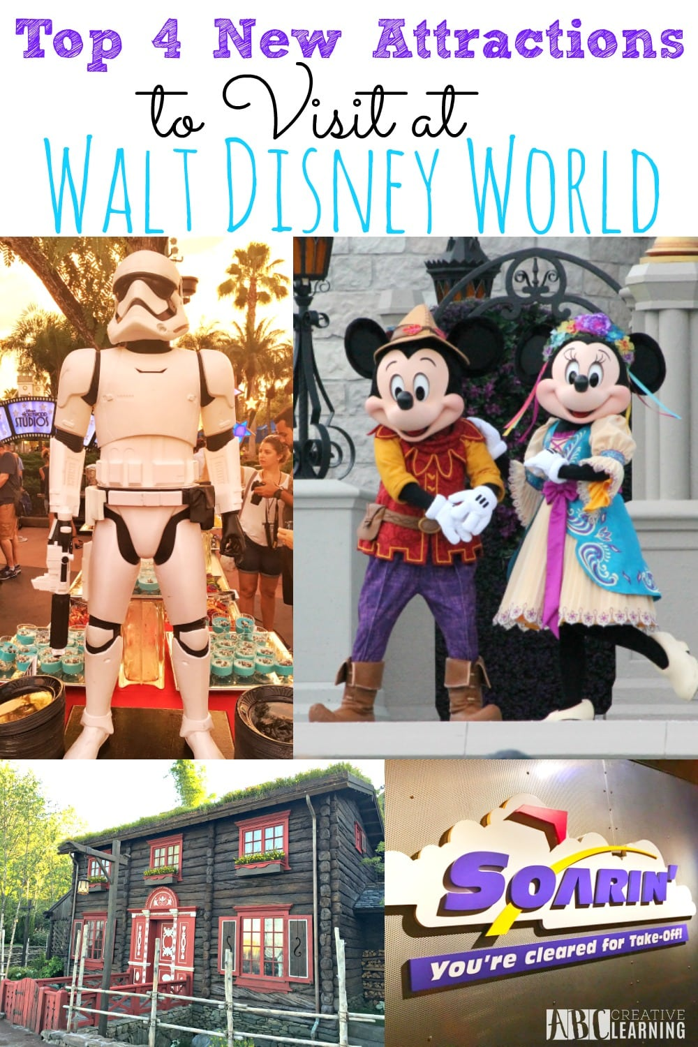 Toop 4 New Attractions To Visit at Walt Disney World Awaken Summer