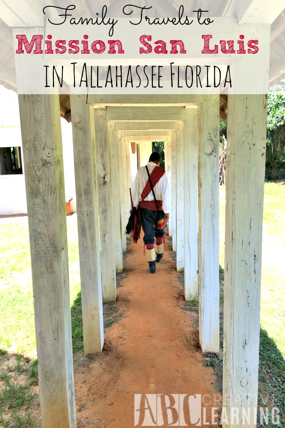 Visiting Mission San Luis in Tallahassee Florida 1