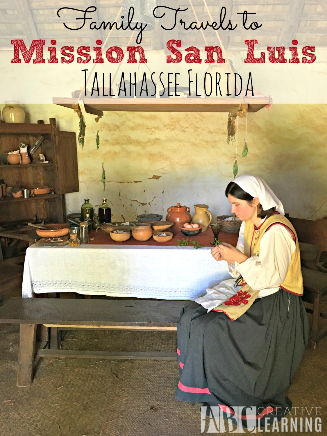 Visiting Mission San Luis in Tallahassee Florida 2