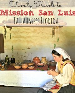 Visiting Mission San Luis in Tallahassee Florida