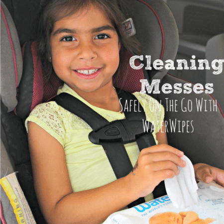 Cleaning Messes Safely On The Go With WaterWipes