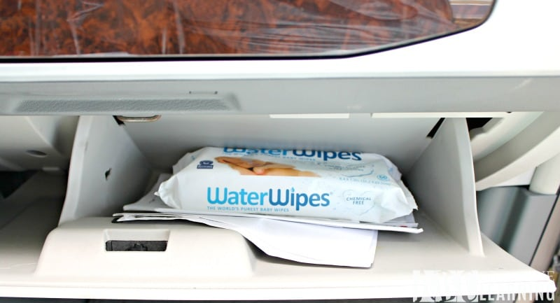 Cleaning Messes Safely On The Go With WaterWipes dash