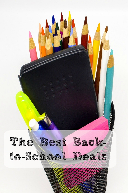 The Best Back-to-school Deals